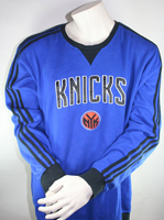 Adidas New York Knicks Sweatshirt Trikot Authentic NBA Blau Heim Herren XL