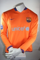 Nike Fc Barcelona Trikot Match issued Lionel Messi 19 2006/07 Away Herren M