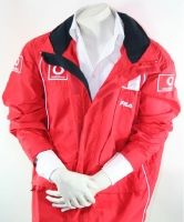 Fila Michael Schumacher Ferrari Jacket size Large Red Formula1