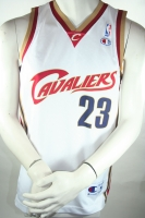 Champion Cleveland CAVALIERS jersey 23 Lebron James white home NBA men's S/M/L/XL/XXL