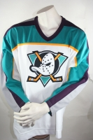 CCM Anaheim Mighty Ducks Trikot NHL Weiß Eishockey Herren S/M/L/XL/XXL