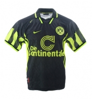 Nike Borussia Dortmund jersey CL winner 1996/97 Away BVB black men's L