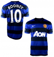 Nike Manchester United Trikot 10 Wayne Rooney 2011/12 A-on away Herren L