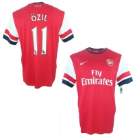Nike FC Arsenal London Trikot 11 Mesut Özil 2013/14 Fly Emirates Heim Herren XL