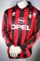 dcc74fdbcf Umbro AC Mailand Trikot 18 Roberto Baggio 1995-97 CL Opel Heim Herren S