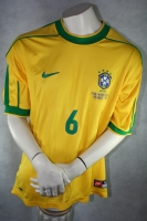 Nike Brazil Jersey 6 Roberto Carlos WC 1998 home yellow men's S
