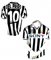 Kappa Juventus Turin jersey 10 Del Piero 1995/96 Sony Champion men's M or XL