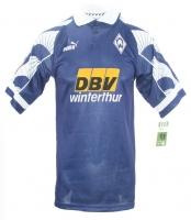 82a1b99116a86 Puma SV Werder Bremen jersey 1996/97 DBV purple shortsleeve men's M (öz)