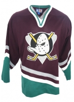 Starter Anaheim Mighty Ducks Trikot  NHL Walt Disney Away Blau Herren XL