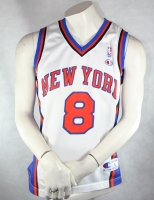 Champion New York Knicks Trikot 8 Latrell Sprewell NBA Herren - L