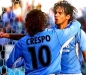 Preview: Puma Lazio Rom jersey 10 Hernán Crespo 2000/2001 home blue men's L