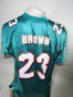 Preview: Miami Dolphins NFL Reebok Jersey 23 Brown size Large Authentic