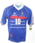 Mobile Preview: Adidas France jersey 10 Zinedine Zidane world cup 98 1998 blue home men's L
