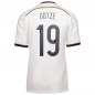 Preview: Adidas Germany jersey 19 Mario Götze WC 2014 white Adizero men size M