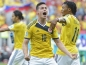 Preview: Adidas Columbia jersey 10 James Rodriguez WC 2014 home yellow men's S or M
