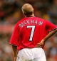 Mobile Preview: Score Draw Manchester United jersey 7 David Beckham 1999/00 Champions League winners Sharp men's XL