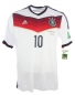 Preview: Adidas Germany jersey 10 Lukas Podolski World Cup 2014 home white men's L