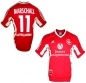 Mobile Preview: Adidas 1.FC Kaiserslautern jersey 11 Olaf Marschall 1998/99 FCK home red men's 176cm/M or XXL/2XL