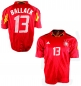 Preview: Adidas Germany jersey 13 Michael Ballack DfB Euro 2004 red men's XXL/2XL