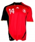 Preview: Adidas Germany jersey 14 Gerald Asamoah 2006 home red away men's L