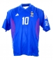 Preview: Adidas France jersey 10 Zinedine Zidane World Cup 2002 blue home men's M L or XL