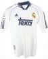 Preview: Adidas Real Madrid jersey 7 Raul 9 Suker 10 Seedorf 4 Hierro 1998-00 Teka CL white men's M or L