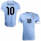 Preview: Puma Uruguay jersey 10 Diego Forlan 2012 home blue jersey men's XXL/2XL