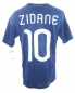 Preview: Adidas France Jersey 10 Zinedine Zidane World cup 2010 home blue men's S