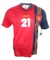 Preview: Adidas Spain jersey 21 Luis Enrique Euro 1996 red home Matchworn men's L