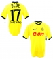 Preview: Goool Borussia Dortmund jersey 17 Dede BVB 2003/04 e-on yellow men's M or XL (B-stock)