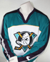 Preview: Nike Anaheim Mighty Ducks jersey1992-1998 NHL Walt Disney white men's L or XL
