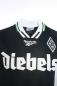 Mobile Preview: Reebok Borussia MönchenGladbach jersey 10 Effenberg Diebels 1996/97 black men's M or XL