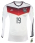 Preview: Adidas Germany Jersey 19 Mario Götze World Cup WC 2014 Adizero men's L(8)