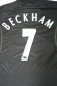 Preview: Umbro Manchester United jersey 7 David Beckham 1998/99 Sharp away black men's L/XL
