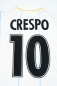 Preview: Puma Lazio Rom jersey 10 Hernan Crespo 2001/2002 away white blue men's M
