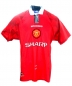 Mobile Preview: Umbro Manchester United jersey 10 David Beckham 1996/97 home red sharp men's XL