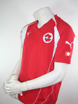 AsF jersey Switzerland Puma Red size M Medium 2006/2008 2010