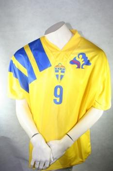 Adidas Schweden Trikot 10 Martin Dahlin 1994 WM USA Herren S