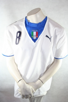Puma Italy jersey 8 Andrea Pirlo World cup 2006 champion white men's L (B-Stock)