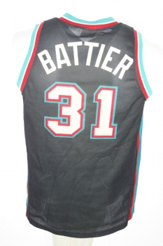 Champion Memphis Grizzlies Jersey 31 Shane Battier swingman NBA men's S small