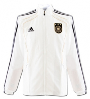 Adidas Germany jacket WM 2010 DFB white home men's D7 (M/L) 186cm