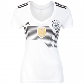 Adidas Germany jersey World Cup 2018 Russia white home 4 stars women's S = 34/36