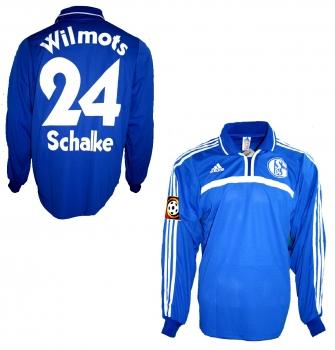 brand new 9d721 c5d7f Adidas FC Schalke 04 Trikot 24 Marc Wilmots 2000/02 Victoria Match worn  issued Neu Herren L