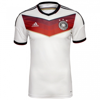 Adidas Germany jersey World Cup 2014 white home men's ​S/M/L/XL/XXL kids 164cm/176cm