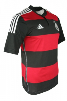 Adidas Germany jersey 2014 Word Cup away adizero red/black men's L=7