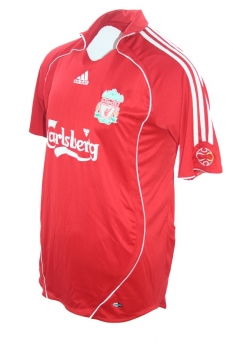 Adidas FC Liverpool jersey 8 Steven Gerrard 2006-08 this is anfield home men's L (B-stock)