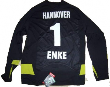 Under Armour Hannover 96 keeper jersey 1 Robert Enke 2008/2009 NEW men's M