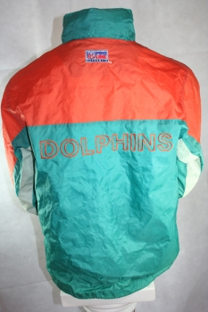 Starter Miami Dolphins Jacket jersey official NFL Product Windbreaker - M