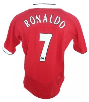 Nike Manchester United Trikot 7 Cristiano Ronaldo 2004-06 ...