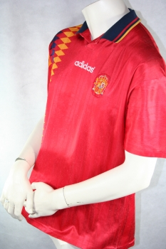 Adidas Spain jersey WC 1994 94 home red men's L